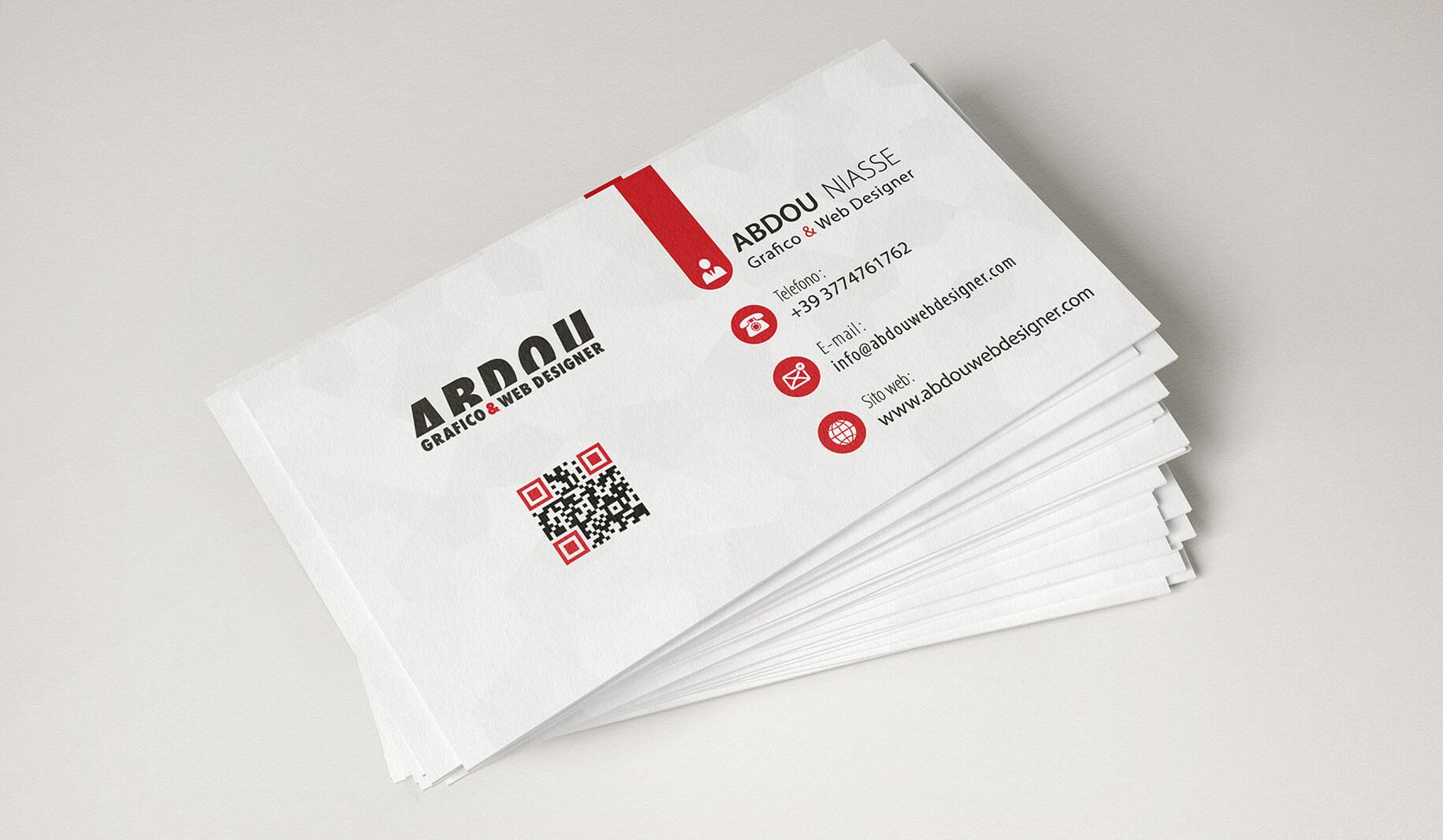 abdouwebdesigner bussness card